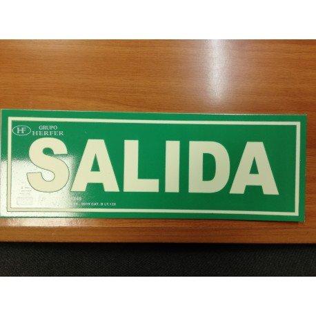 """SEÑAL DE """"SALIDA"""""""