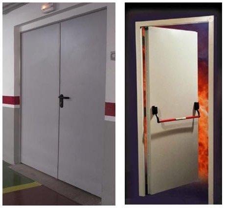 Paneles y morteros extintores herfer - Puerta contra incendios ...