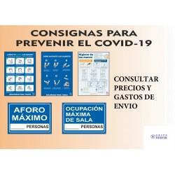 Consigna para prevenir el covid-19