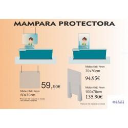MÁMPARA PROTECTORA METACRILATO